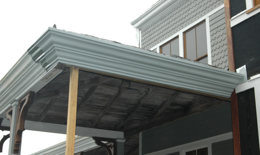 Historic Crown Molding Restoration Forms In Metal